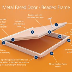 Air-Tight - Metal Faced - Beaded Frame
