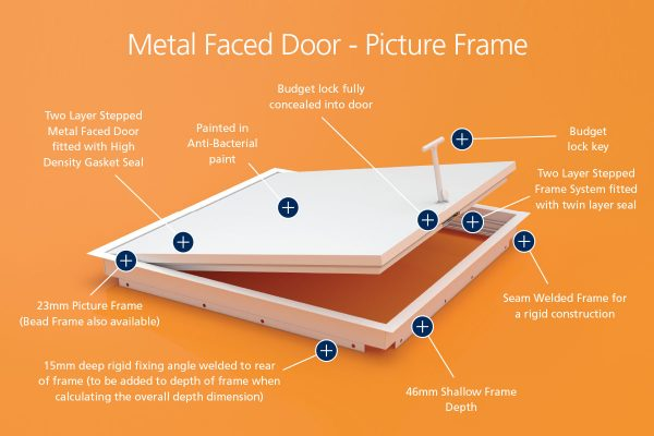 Air-Tight - Metal Faced - Picture Frame