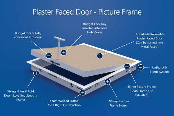Everyday Standard - Plaster Faced Door - Picture Frame